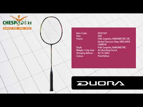 Racketreview: Yonex Duora 10LT - not only for men!