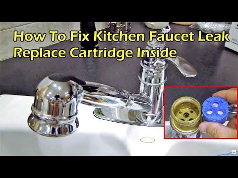 How To Fix Kitchen Faucet Leak