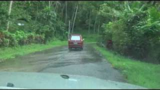 Driving in the Philippines - Quezon/Laguna Province segment (Sampaloc, Lucban, Pangasinan)