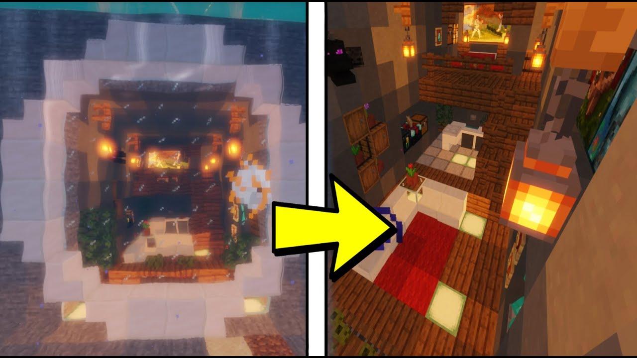 Unterwasserhaus in Minecraft bauen - Minecraft Unterwasserhaus bauen | Tutorial Deutsch