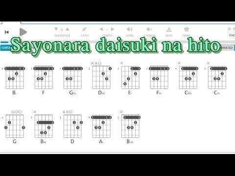 Sayonara daisuki na hito | Guitar chord | Song Ngư Guitar