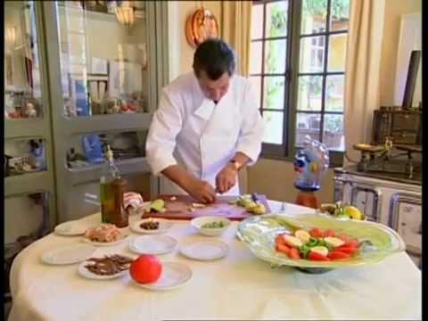 Jacques Maximin - La salade niçoise - recette
