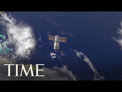 China's Space Station Is Heading Towards Earth This Weekend: Should You Be Worried? | TIME