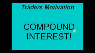 HOW TO TURN $1000 INTO $1,000,000 TRADING FOREX USING COMPOUND INTEREST