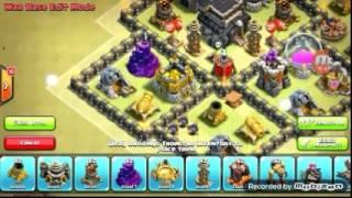 Clash of Clans:= Melhor layout de guerra para cv7