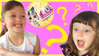 Toy Hunt for Birthday Presents LOL Dolls with Isla and Olivia plus a Surprise for Ava !