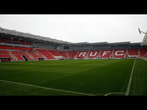 Rotherham United Vs Portsmouth - Match Day Experience