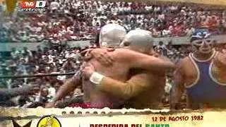 La Lucha Se Hizo: Despedida del Santo, 12 de septiembre de 1982