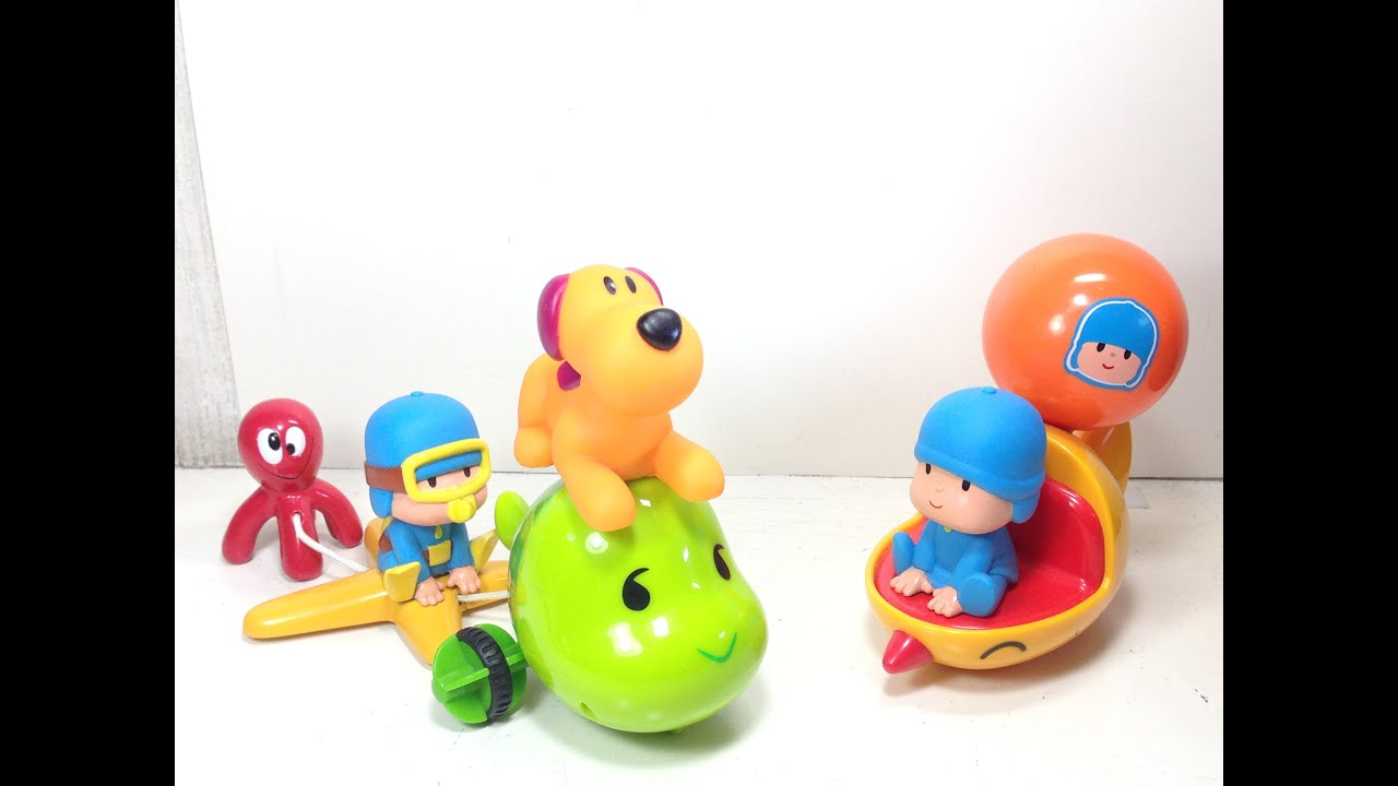 Pocoyo Toys Vamoosh Action Vehicle and Scuba Pocoyo ...