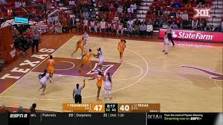Texas Vs Tennessee Womens Basketball Highlights