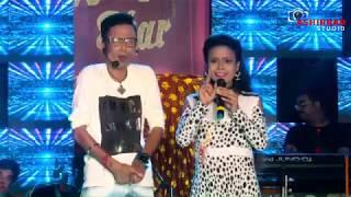 sunil pinki new live comedy video