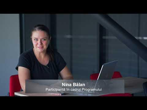 """Fete și femei în IT. Nina Bălan: """"Investesc în cunoștințe pentru a dezvolta o carieră în IT"""""""