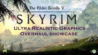 skyrim special edition Xbox one Ultra Realistic Graphics Overhaul showcase [HD]