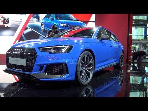 WORLD PREMIERE: Audi RS4 - IAA 2017