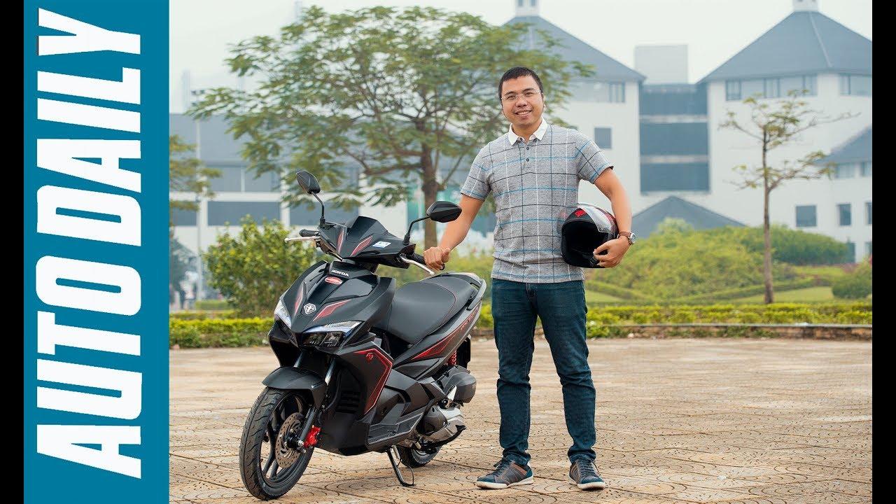4 điểm nổi bật trên Honda Air Blade 2018 vừa ra mắt tại Việt Nam |AUTODAILY.VN|