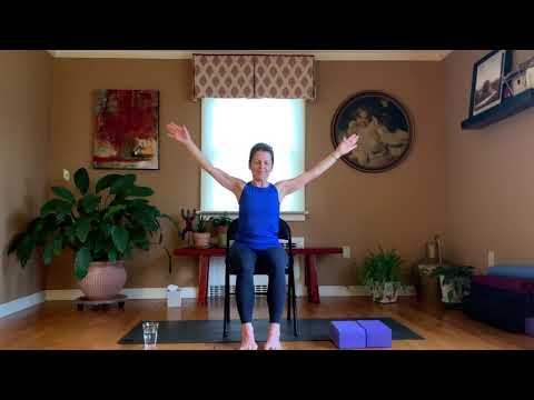 Home Practice #10 Chair Yoga: Focus on Spine & Legs