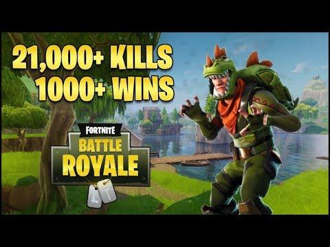Top 1 Xbox One Solo Player 1000 Wins 21200 Kills Fortnite