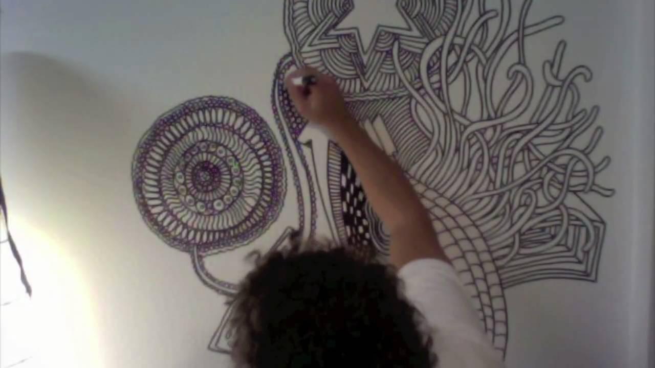 farbenbaden malt die wand an - YouTube