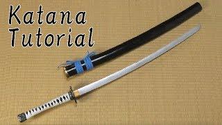 Katana tutorial - Samurai sword [How to make props]