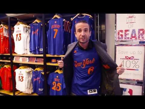 Holiday Gift Guide At The NBA Store // SiriusXM // NBA Radio