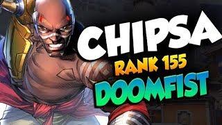 CHIPSA PRO DOOMFIST! TOP 200! [ OVERWATCH SEASON 19 TOP 500 ]