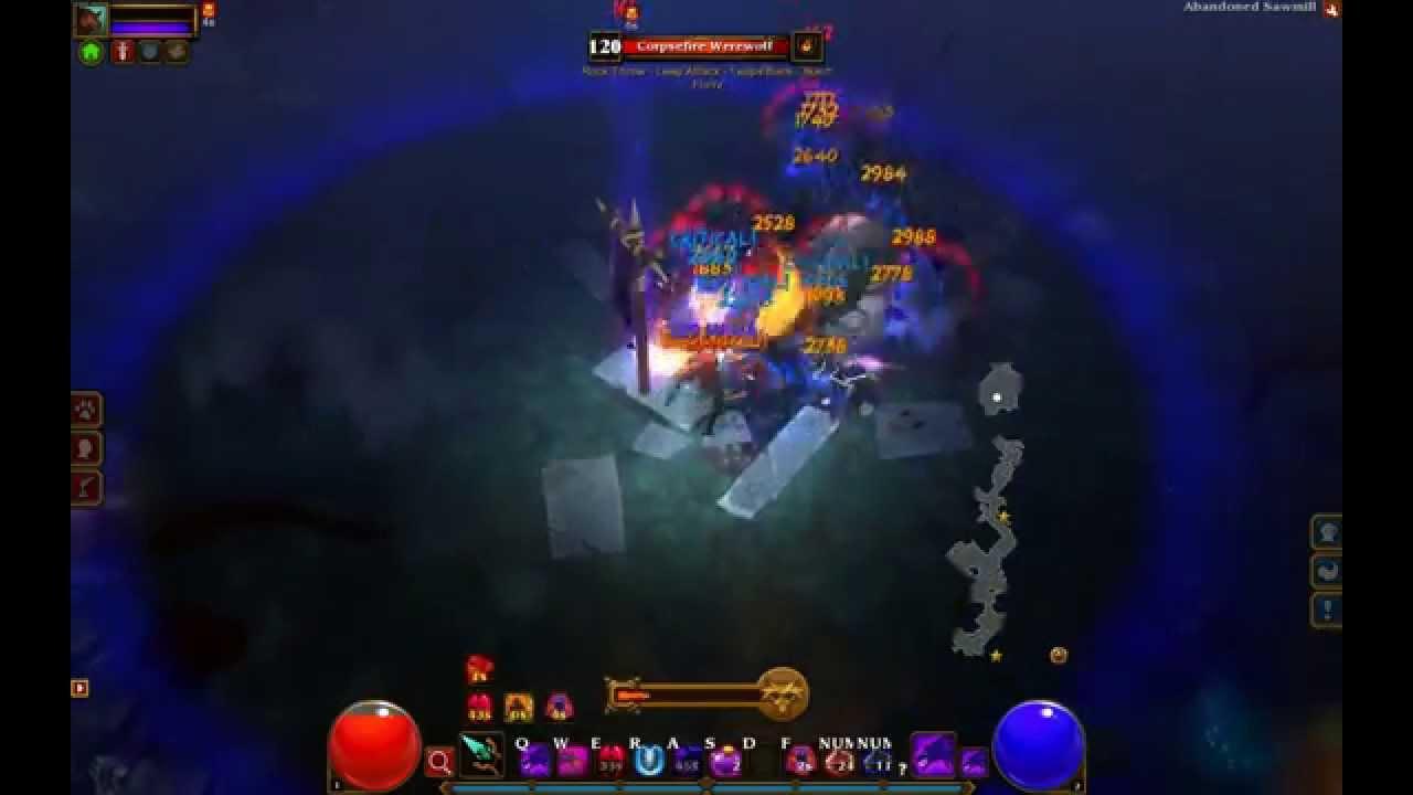 Torchlight 2 Berserker Ng 5 Elite All Boss Fights Youtube