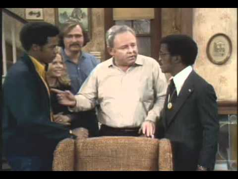 All in the Family - Archie introduces the Family to Sammy & The Kiss