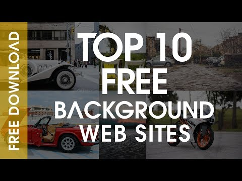 How To Find Manipulation Backgrounds For Editing - TOP 10 FREE Manipulation Background Web Sites