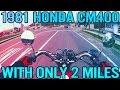 Riding a 1981 Honda CM400!
