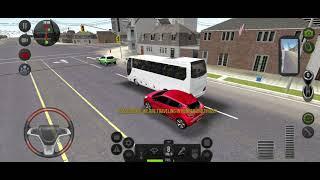 Mini bus, Bus Simulator! Bus wheels Games Android! မိနီဘတ်(စ်)ကား screenshot 3