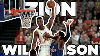 NBA 2K19 Zion Williamson My Career