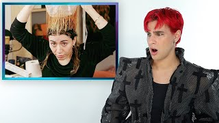 Hairdresser Reacts To DIY Cap Highlights