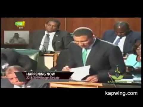 PRIME MINISTER ANDREW HOLNESS'S RESPONSE TO PETER PHILLIPS (MACARONI CLAPBACK) LOL LMAO
