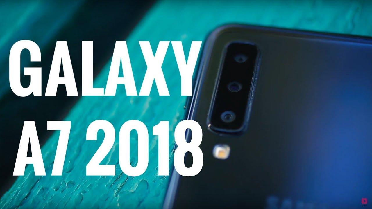 Samsung Galaxy A7 (2018) A750 4 Гб/ 64 Гб/ Dual SIM/ Черный