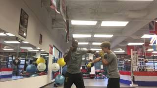 defensive boxing training at sweet science boxing club atl ga