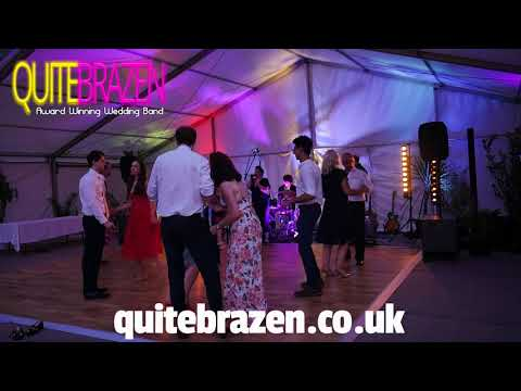 Quite Brazen wedding band Jess Glynne cover live