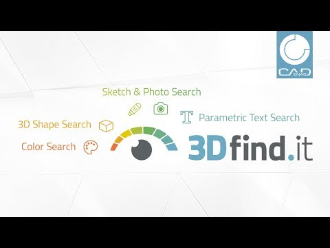 3Dfind.it - The next dimension visual 3d search engine for manufacturer components