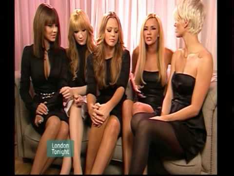 Girls Aloud - Interview [London Tonight 23.11.07]