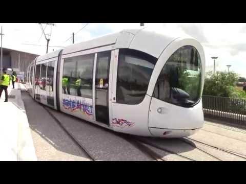 Trams at Parc Olympique Lyonnais 16/6/16