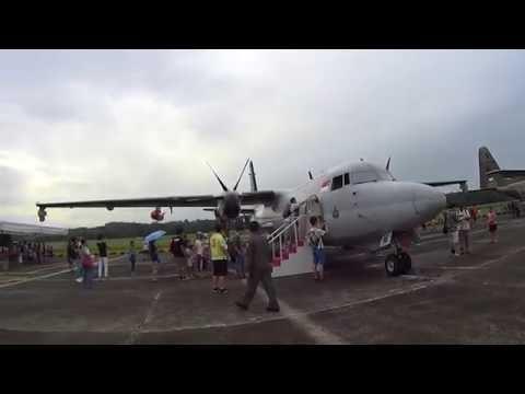 RSAF Open House 2016 -  Fokker F-50 Utility Aircraft (UTA) and Maritime Patrol Aircraft (MPA)
