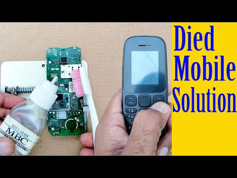 How to fix All died mobile phone do not power on repair problem solution Tutorial#32