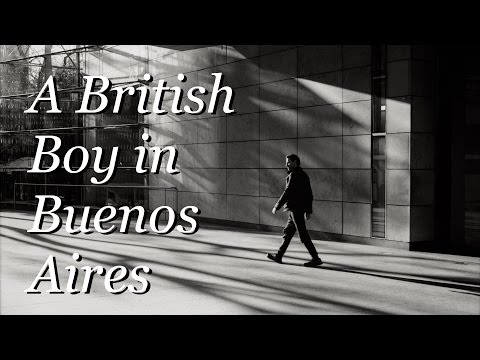 Street Photography in Argentina: A British Boy in Buenos Aires  ||  Miles Twist