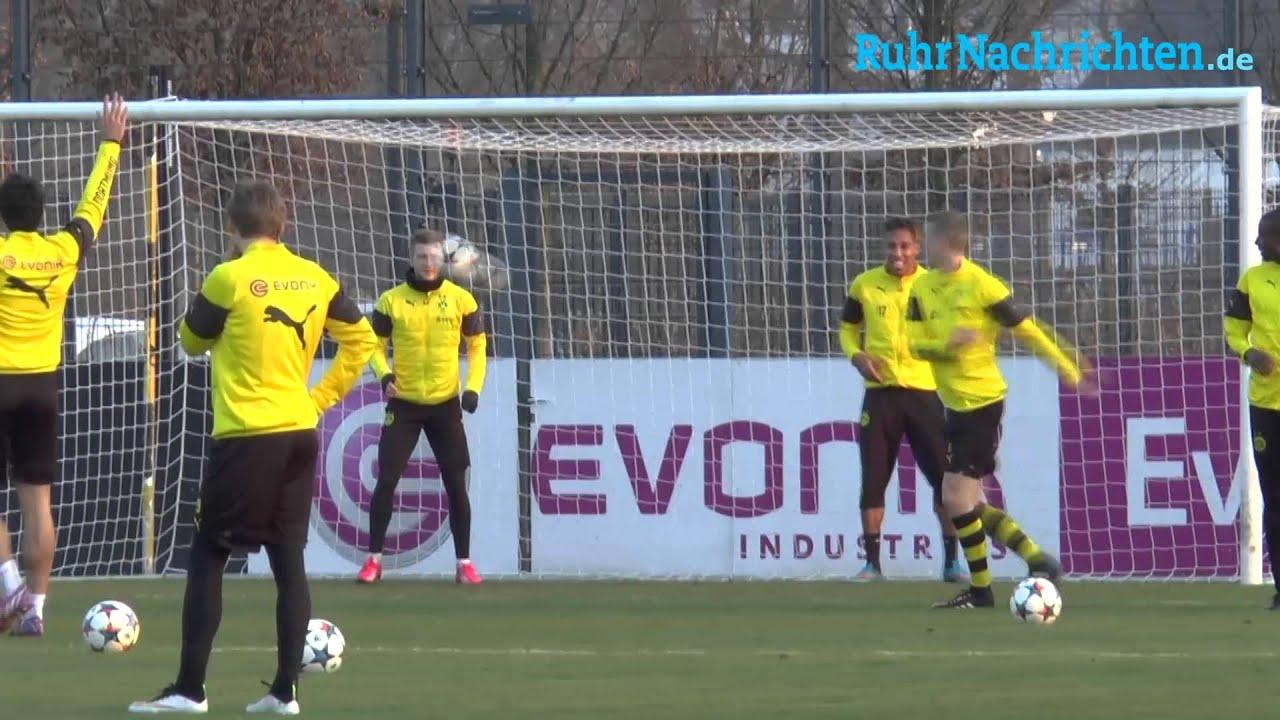 Reus und Aubameyang als neue BVB-Torhüter