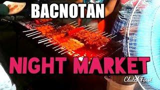 Motovlog Bacnotan La Union Night Market Frog scare  ClutchFirst  Philippines