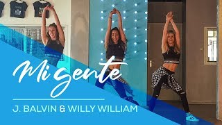 Baixar Mi Gente - J Balvin, Willy William - Watch on laptop - Easy Fitness Dance - Baile - Choreography