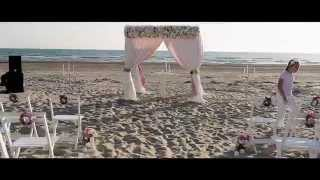 """Свадьба на берегу моря"""