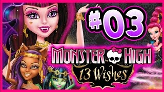 Game | ☆ Monster High 13 Wishes Walkthrough Part 3 Wii, WiiU, 3DS Full Gameplay ☆ | ☆ Monster High 13 Wishes Walkthrough Part 3 Wii, WiiU, 3DS Full Gameplay ☆