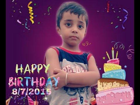 Happy Birthday Whatsapp Status (Happy Birthday Vishu)