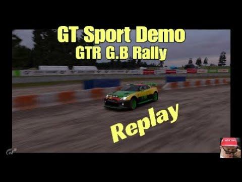 GT Sport Demo: GTR Gr.B Rally - Colorado Springs Lake 2 - Replay