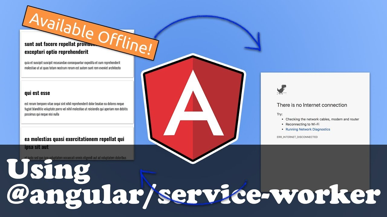 Angular Service Worker Tutorial